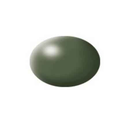 N° 361 Vert Olive Satiné / Olive Green Silk