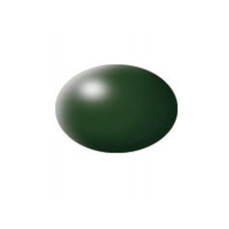 N° 363 Vert Fonce Satiné / Dark Green Silk