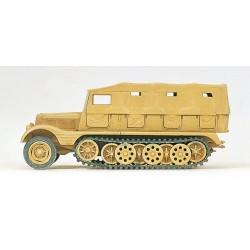 EDW Halbketten- Zugmaschine 3t, SdKfz 11, Pionierausrüstung H0