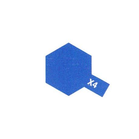 X4 Bleu Brillant / Blue Gloss