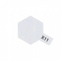 X11 Chrome Argenté Brillant / Chrome Silver Gloss
