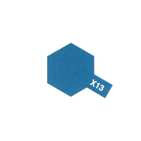 X13 Bleu Métal Brillant / Mettalic Blue Gloss