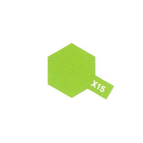 X15 Vert Pâle Brillant / Light Green Gloss