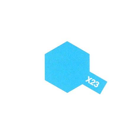 X23 Bleu Translucide / Clear Blue
