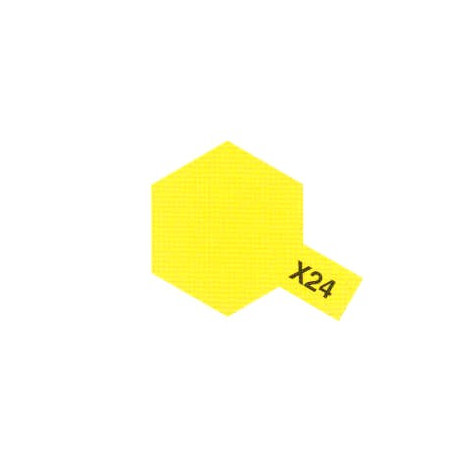 X24 Jaune Translucide / Clear Yellow