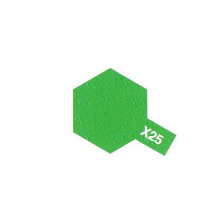 X25 Vert Translucide / Clear Green