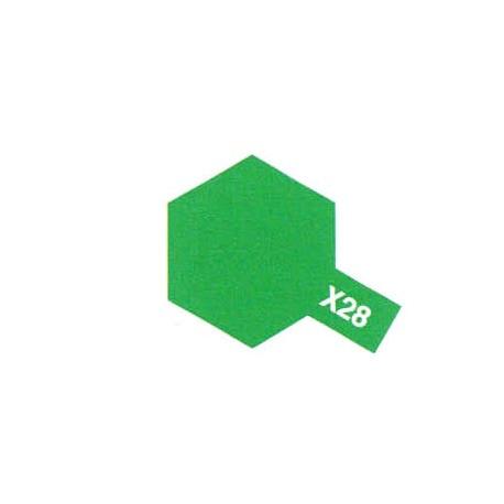 X28 Vert Pré Brillant / Park Green Gloss