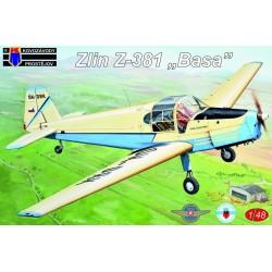 Zlin Z-381 Basa Version belge 1/72