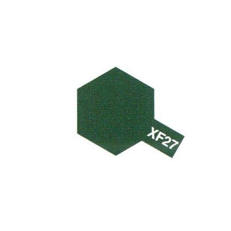 XF27 Vert Noir / Black Green Mat