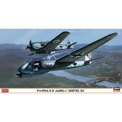 Fw190A-8 & Ju88G-1 Mistel S2 1/72