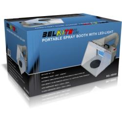 Cabine de Peinture Portable Spray Booth + Lumière LED Light