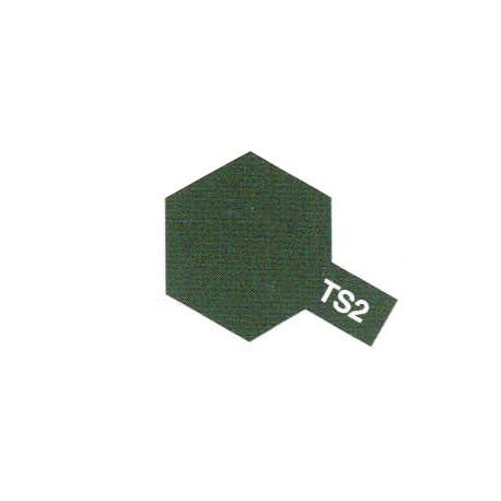 TS2 Vert foncé / Dark Green Mat