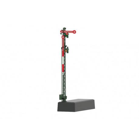 Sémaphore avec mât en treillis / Home Signal with a Lattice Mast, H0