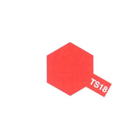 TS18 Rouge Métal Brillant / Metallic Red Gloss