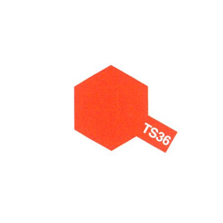 TS36 Rouge Fluo Brillant / Fluorescent Red Gloss