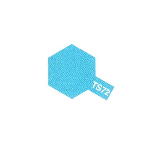 TS72 Bleu Translucide / Clear Blue