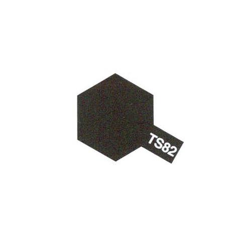 TS82 Noir Caoutchouc / Black Rubber Mat