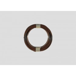 Câble brun / Brown wire, 10m