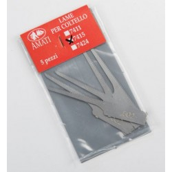 Lame scie passe-partout / Blade for knife (5 pcs)