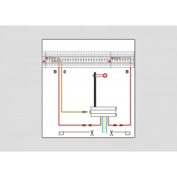 Garniture d'alimentation des signaux / Signal Feeder Wire Set H0