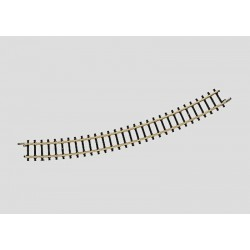 Rail courbe / Curved Track, R220mm, 30°, Z
