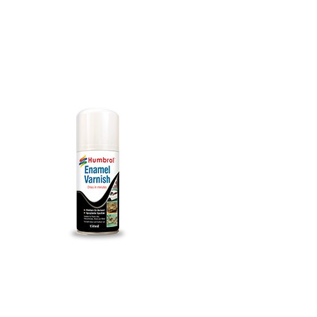 Spray Vernis Email Satin / Varnish Enamel Semi-Gloss 100 ml