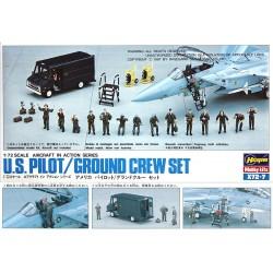 US Pilot & Ground Crew Accessories 1/72
