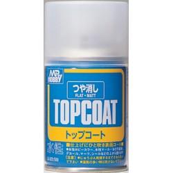 Top Coat Flat / Vernis Mat, Spray 88ml