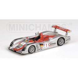 Audi R8, Biela/Kristensen/Pirro Team Audi Sport North America, 12H Sebring 2002, 1/43