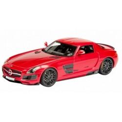 Brabus 700 Bi Turbo (SLS), Rouge, 1/43