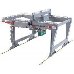 Portique à conteneurs / Container bridge-crane H0