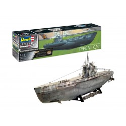 Sous-marin allemand Type VII C/4 1/72