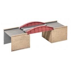 Pont / Bow Plate Girder Bridge H0