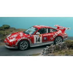 """Porsche 911 GT3 Duez """"Gordon"""" Ardenne Bleue 2006 1/24"""