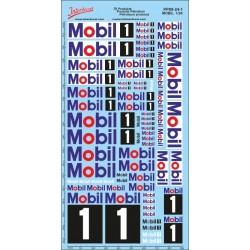 Décalcomanie Produits pétroliers Mobil 1/24