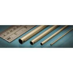Laiton / Brass Micro Tube 0.7 x 0.5 mm (3p.)