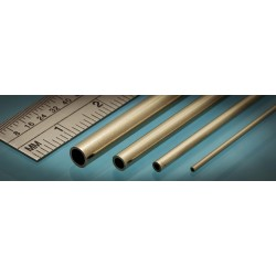Laiton / Brass Micro Tube 0.4 x 0.2 mm (3p.)