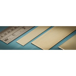 Bande Laiton / Brass Strip 25 x 0.4 mm (3p.)