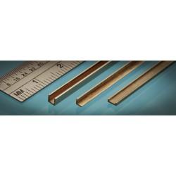 Laiton 'C' Brass 1 x 2.5 x 1 mm (1p.)