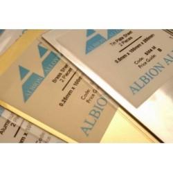 Feuille Aluminium Sheet 100x250x0.5 mm 2p.