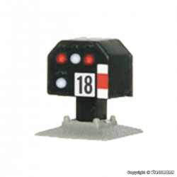 Signal avertisseur / Colour light distant signal N