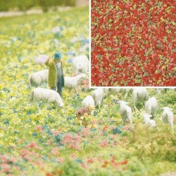 Flocage Fleurs rose-vert / Foam Flock Flowers 200ml