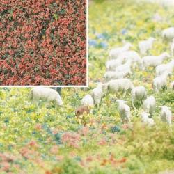 Flocage Fleurs Fuschia-Vert / Foam Flock Flowers 200ml