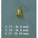 Cloche 6 mm 1pc