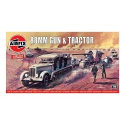 88mm Gun & Tractor 1/76