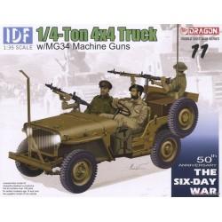 IDF 1/4-Ton 4x4 Truck w/MG34 Machine Guns 1/35