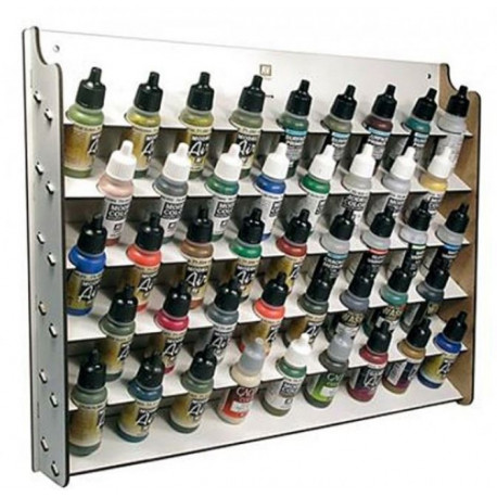 Présentoir Mural 43*17 ml / Wall Mounted Paint Display for 43*17 ml. bottles
