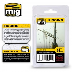 Rigging Super Fine 0,01mm, 2 m.