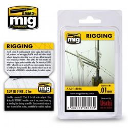 Rigging Super Fine 0,01mm, 2 m.