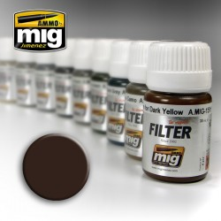 Filtre / Filter Brown for Dark Yellow 30ml